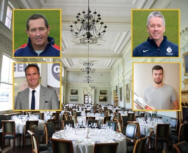 Lord's Hospitality Long Room Lunch Ashes Preview