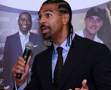 David Haye Boxing Hospitality