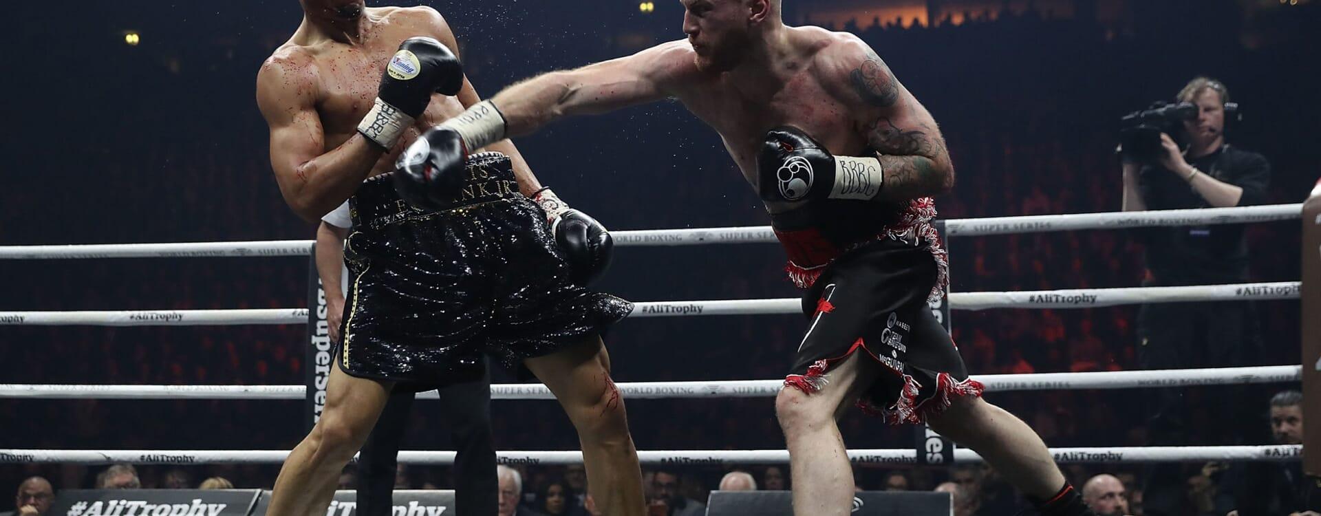 boxing sport hospitality