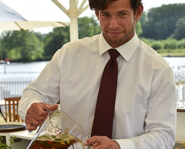VIP Corporate Hospitality Food dining Staff Incentive Gift Travel Package Henley Royal Regatta Week Festival rowing Helicoptor