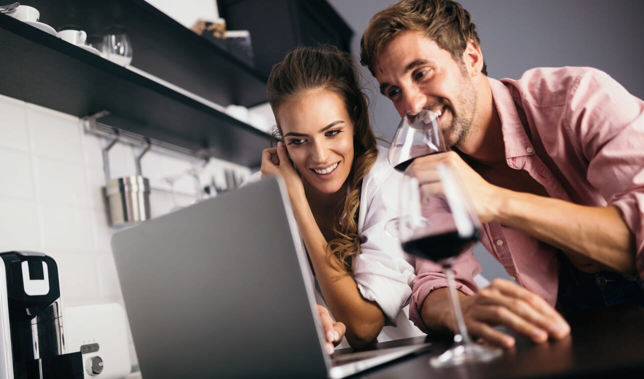 Corporate Online event celebrity Virtual event wine tasting private dining