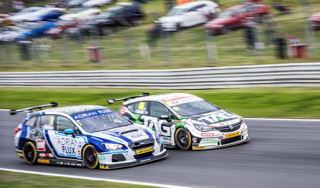 VIP British Touring Cars corporate sports hospitality race racing