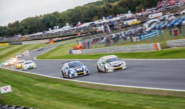 VIP British Touring Cars corporate sports hospitality race racing