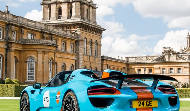 Salon Prive Blenheim Palace VIP Cars corporate sports hospitality race racing