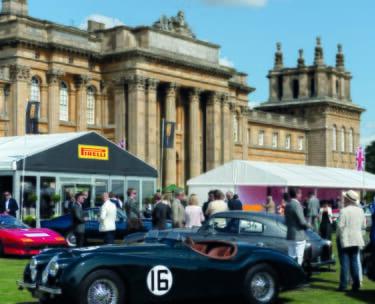 Salon Prive Blenheim Palace VIP Cars corporate sports hospitality race racing