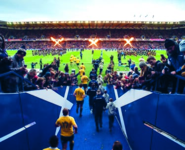 Scotland Scottish 6 Nations World Cup Rugby VIP corporate sports hospitality