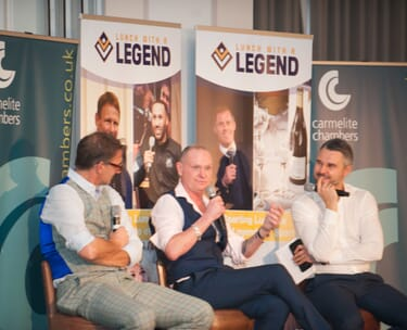 London Lunch With A Legend - Paul Gascoigne & Tony Adams