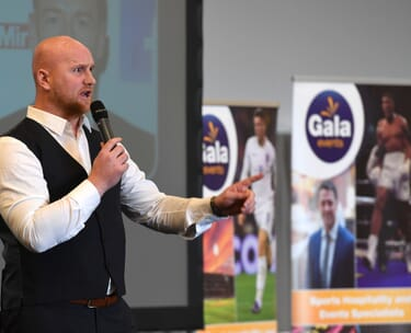 Sport Lunch Sporting Dinner VIP Hospitality Package Cricket Horse Racing Boxing Football Rugby Event Celebrity Guest Speaker London Birmingham Midlands
