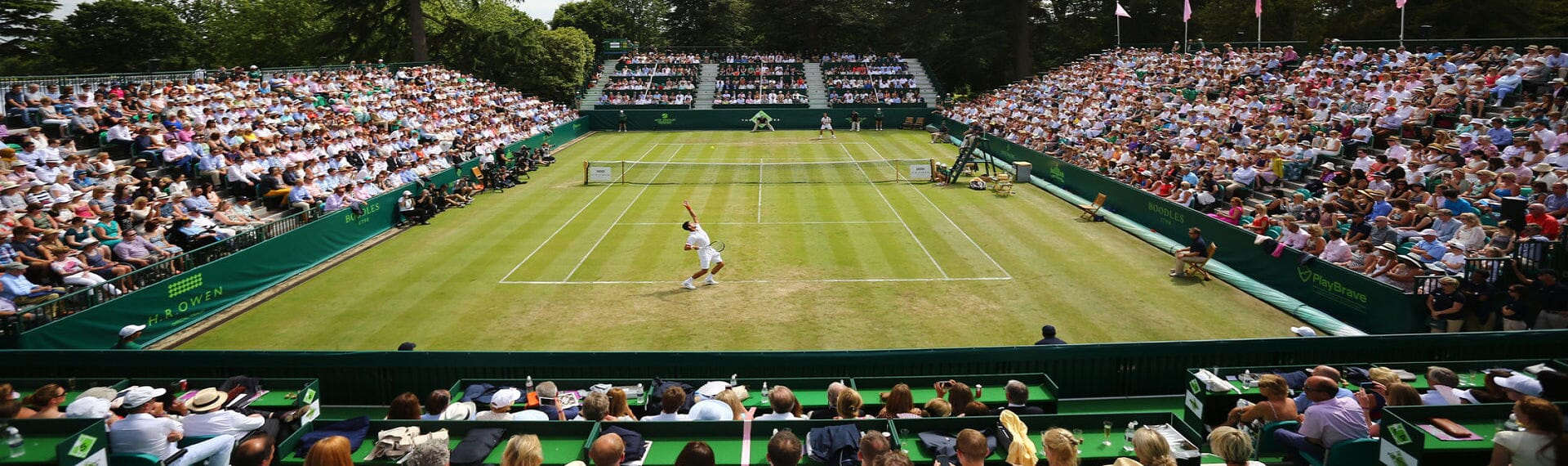 Boodle Tennis VIP Corporate Hospitality Royal Albert Hall Champions Wimbledon ATP Queens Club Fevertree Classic Aegon
