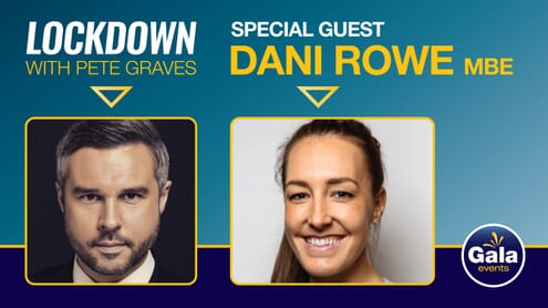 Lockdown with Dani Rowe MBE